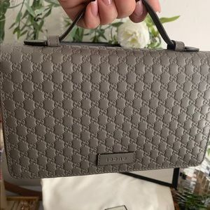 Gucci Double Zip Wallet/Clutch